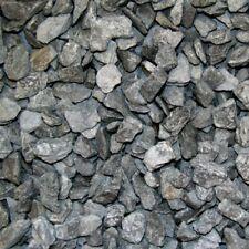 (0,50€/1kg) 25kg Sack Schiefersplitt Canadian Slate Schwarz 30-60 mm