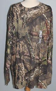 NEW Hunting Zone MOSSY OAK Break-Up Country Long Sleeve Shirt Camo Mens 2XL 3XL