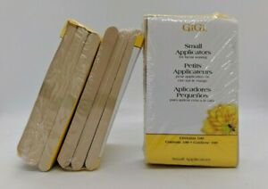 Small Hair Removal Wax Applicator Sticks - 100pc (Pack of 3).