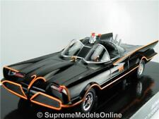 BATMOBILE BATMAN CLASSIC TV SERIES MODEL CAR 1/24TH SCALE BLACK ISSUE K897Q~#~