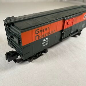 AMERICAN FLYER S SCALE MINT 6-48328 GREAT NORTHERN BOXCAR RD.# G.N. 900-197