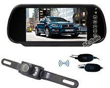 Back UP Camera with 7 inch Rear View Mirror