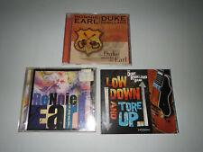 Ronnie Earl / Duke Robillard (3 CD LOT) The Duke Meets The Earl / Low Down