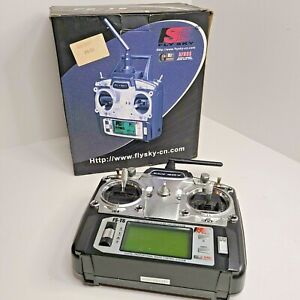 FlySky FS-T6 2.4GHz AFHDS 6 Channel Digital Transmitter No Battery Backplate