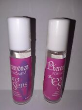 PHEROMONES SMELL SEXY ATTRACT MEN 2 BOTTLES 0.40 OZ. FREE SHIPPING