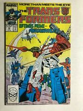 TRANSFORMERS #42 (1988) Marvel Comics VG/VG+