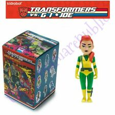 Kidrobot Transformers vs GI Joe Vinyl Mini Series Figure Scarlett 1/24 Hasbro