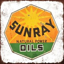 Sunray Oil Shield High Quality Metal Magnet 4 x 4 inches 9367