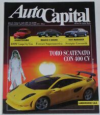 AUTOCAPITAL 4/1995 FORD SCORPIO COSWORTH – FERRARI 400 SA – FIAT BARCHETTA