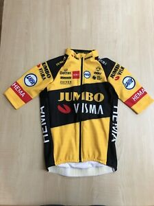 Jumbo Visma Team issue Bianchi SS WINTER THERMAL JACKET BNIB MEDIUM