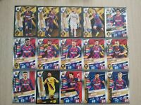 Match Attax 101 2020 set of 15 BARCELONA cards inc Messi 100 club W1