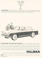 1959 Hillman Automobile - Vintage Advertisement Car Print Ad J472