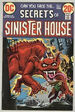 Secrets of Sinister House #8 December 1972 FN Dragon cover