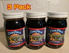 Gilley's Cane Field Syrup 3 22oz Jars ✔Roddenbery's Cane Patch Buyers Approved✔