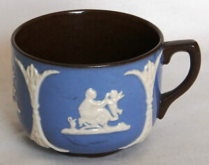 Vintage Blue & White Sprigged Cup - Gibsons