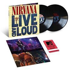 NIRVANA - LIVE & LOUD 2 X VINYL LP DELUXUE EDITION RARE LIVETRACKS