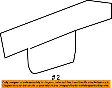 Jeep CHRYSLER OEM 14-18 Cherokee-Roof Rack Cover 68141170AC