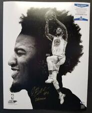 JORDAN BELL Signed Golden State Warriors, Ducks 16x20 Photo Collage. BECKETT