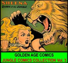Golden Age FICTION HOUSE SHEENA JUMBO COMICS Book Lot DVD Jungle Adventures [3]