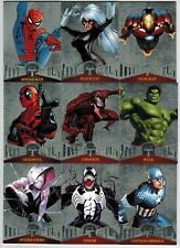 2017 FLEER ULTRA SPIDER MAN MARVEL 1995 METAL COMPLETE 50 CARD INSERT CHASE SET
