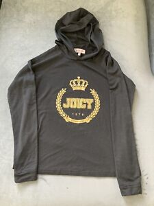 y2k juicy couture hooded sweatshirt size small