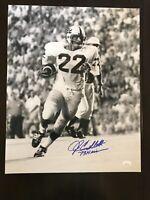 John Cappelletti Penn State Autograph Signed 16x20 Photo Inscribed 73 Heisman