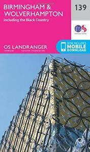 Landranger (139) Birmingham & Wolverhampton (OS Landranger Map) Da Ordnance Surv