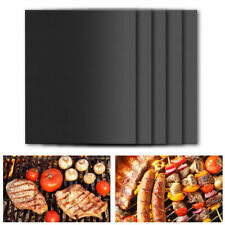 2PCS Barbecue Pad High Temperature Resistance Non-stick Outdoor BBQ Grill Mat UK