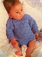 Premature - 6 Months Baby Angel Top And Pants Knitting Pattern
