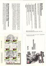 Rotes Kreutz Berlin MH 1984 gest. selten  weitereMHShop