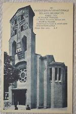 """CPA """" PARIS 1925 - Exposition internationale des Arts Décoratifs  - Village Fr"""