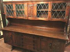 Solid Oak Reproduction Dresser/Sideboard