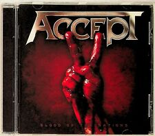 ACCEPT -Blood Of The Nations CD -2010 (Nuclear Blast) German Heavy Metal