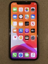 iPhone X Space Grey 256GB with Apple Case