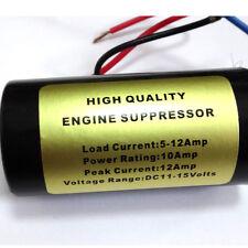 Auto 12-Volt Noise Audio Filter Kill Hum Engine Wine Stereo Installation DC 12V