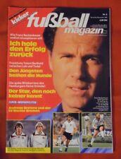 Kicker Fußball Magazin 1985 Nr 6 , mit Super-Wendeposter Andreas Brehme , TOP