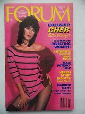 Penthouse Forum, March 1981, Cher,Arlene DeMarco,Male Potency Help,Herpes Study