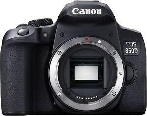 Canon EOS 850D 24.1MP DSLR Camera (Body Only)