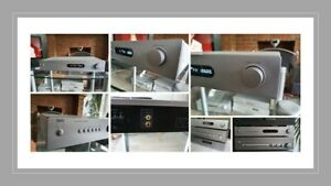 NAD C422 AM/FM high quality Tuner  Silver also have matching CD player and amp