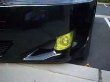 IS250 IS350 Rally Yellow Fog light Overlays. Pre-cut smoked/hid tint film covers