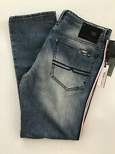 Buffalo David Bitton Ash-x Side Stripe Denim Men 32 X 30 Medium Wash Stretch