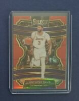 2019-20 Panini Select ANTHONY DAVIS Concourse Red Prizm /199 - Clean! LAKERS 🔥