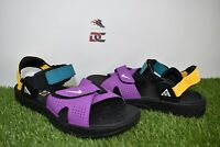 New Nike ACG Air Deschutz Black White Vivid Purple CT2890-002 Men's 7 WMNS 8.5