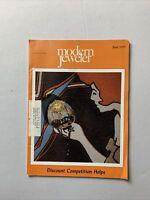 Vintage Modern Jeweler Magazine June 1975 - Jewelry, Watches Gems Diamonds
