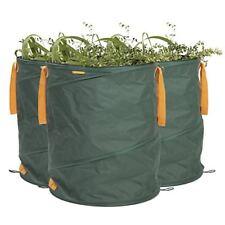 Prima Garden Sacco rifiuti giardino 3er Set in Verde