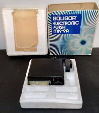 Vintage Soligor Electronic Flash MK-9A With Box Untested