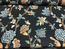 Dwell Studio Helene Floral Admiral Fabric By The Yard