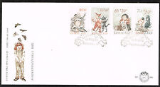 Nitherlands Arts Animals Cats Birds Paintings set FDC 1982