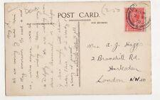 Mrs A. Haggis, 2 Bramshill Road, Harlesden 1920 Postcard, B395