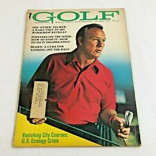 Arnold Palmer Golf Magazine Masters October 1970 Vintage